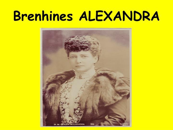 Brenhines ALEXANDRA