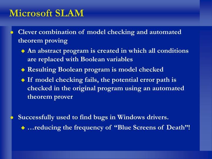 Microsoft SLAM