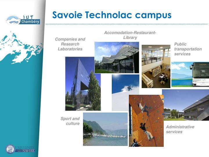 Savoie Technolac campus