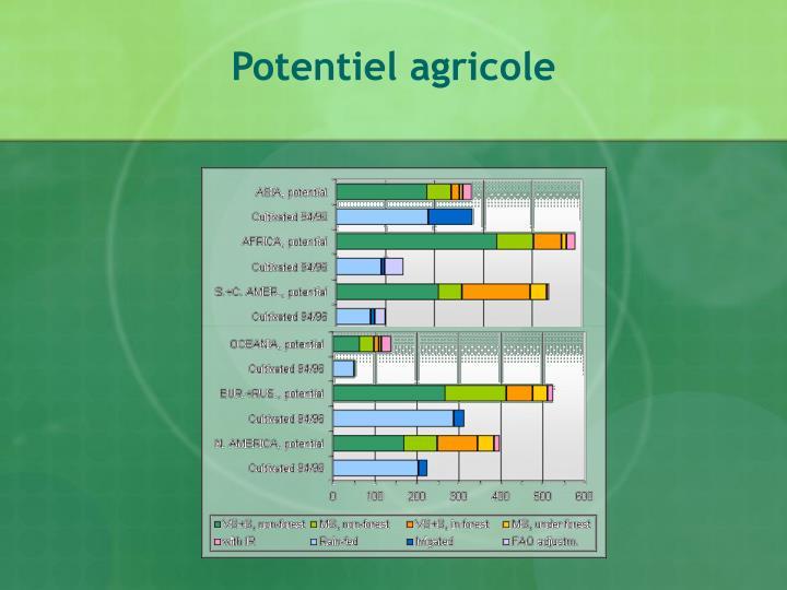 Potentiel agricole