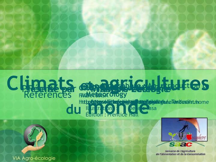 VIA Agro-écologie