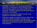 key recommendations 2