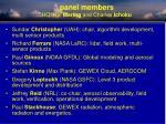 panel members hq hal maring and charles ichoku