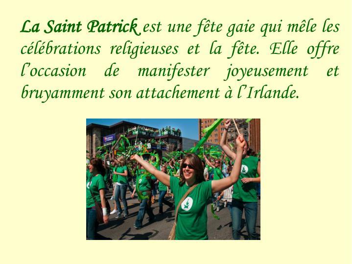 La Saint Patrick