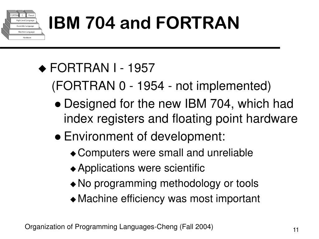 PPT - Organization of Programming Languages (CSE452