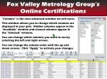 find your certifications columns