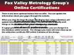 find your certifications gage updating