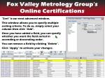 find your certifications sort