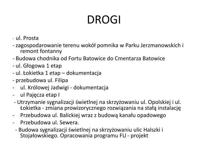 DROGI