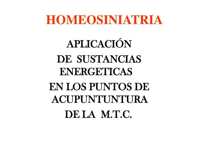 Homeosiniatria