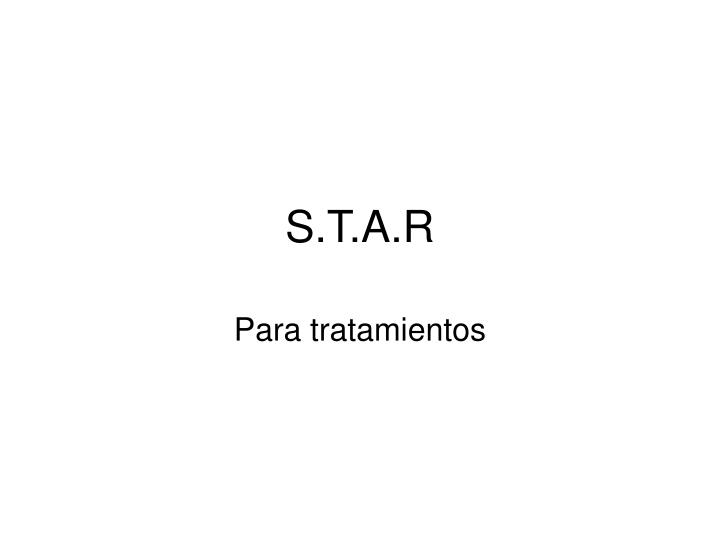 S.T.A.R