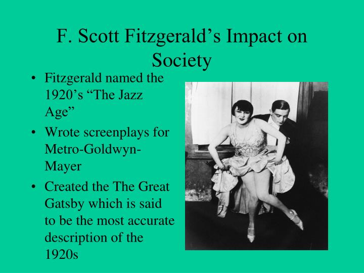 f scott fitzgerald's comment on the There are no second acts in american lives, wrote f scott fitzgerald, who himself went from being the high priest of the jazz age to a.