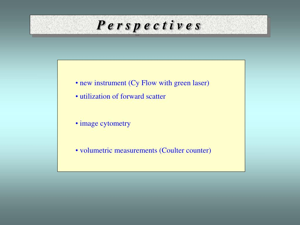 PPT - Laboratory of flow cytometry Průhonice PowerPoint Presentation