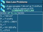 gas law problems2