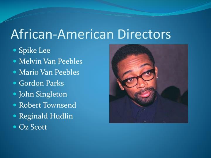African-American Directors