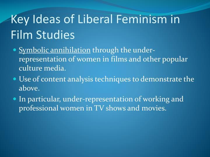 Key Ideas of Liberal Feminism in Film Studies