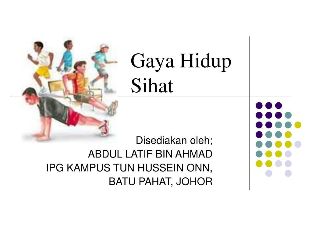 Ppt Gaya Hidup Sihat Powerpoint Presentation Free Download Id 4136427