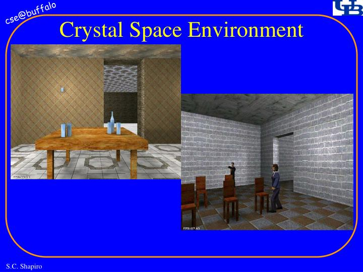 Crystal Space Environment