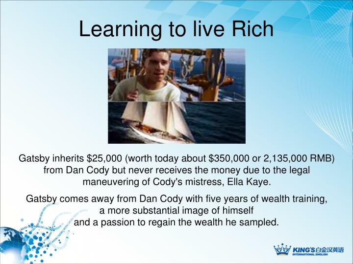 Learning to live Rich