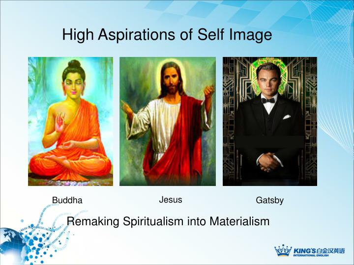 High Aspirations of Self Image