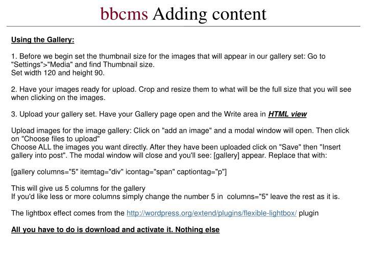bbcms