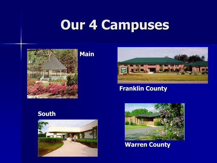 Our 4 campuses