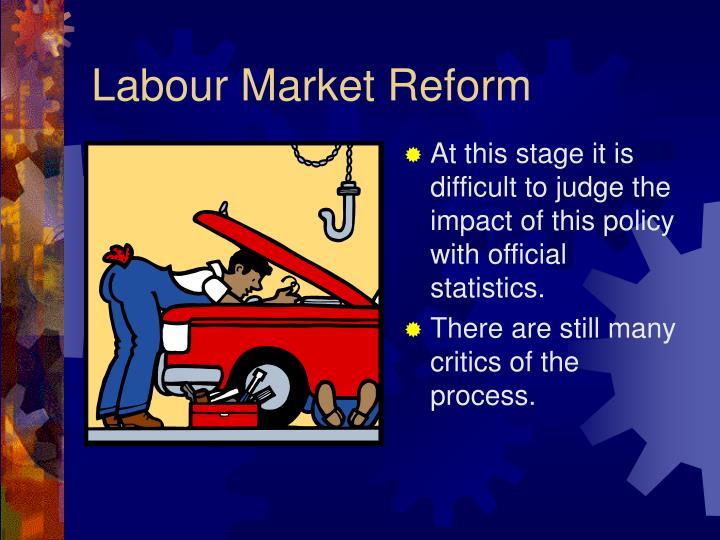 Labour Market Reform