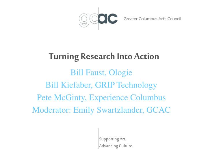 Turning research into action