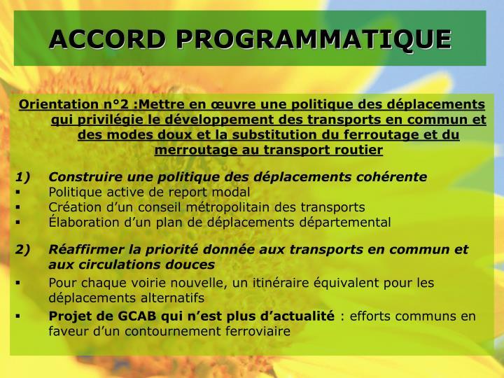 Accord programmatique1