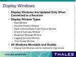display windows