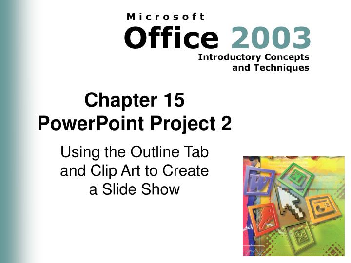 chapter 15 powerpoint project 2 n.