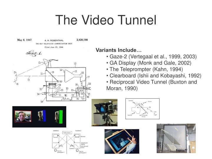 The Video Tunnel