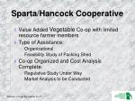 sparta hancock cooperative