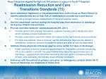 readmission reduction and care transitions standards t5