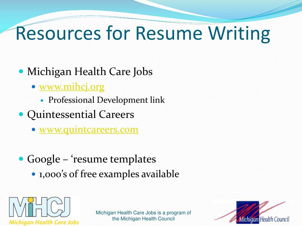 ppt - resume writing tips  u0026 insights powerpoint presentation