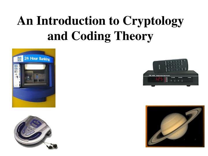 an introduction to cryptology and coding theory n.