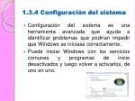 1 3 4 configuraci n del sistema