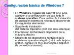 c onfiguraci n b sica de windows 7
