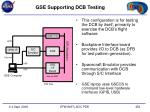 gse supporting dcb testing