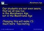 morphware age