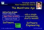 paradigm shifts nick tredennick s view 1