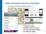 better information services to the public