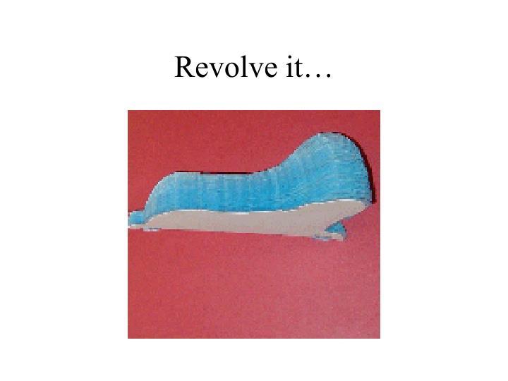 Revolve it…