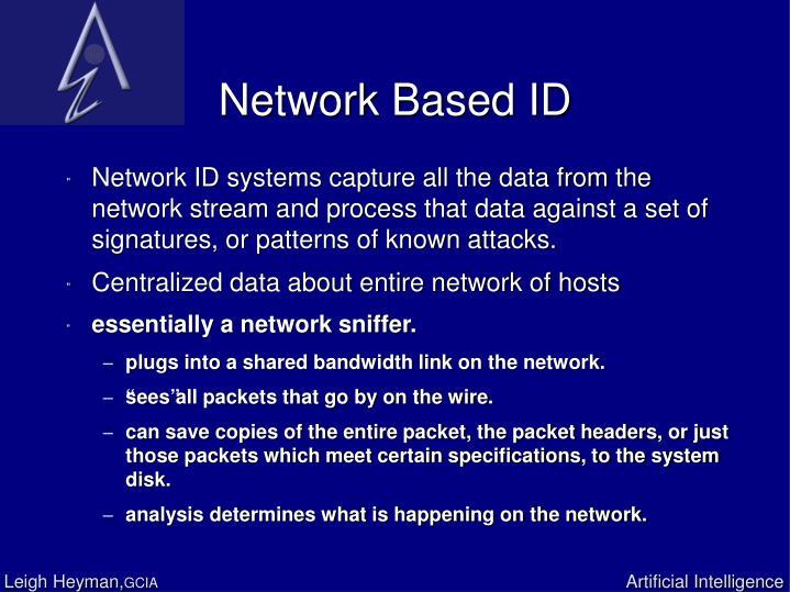 Network Based ID
