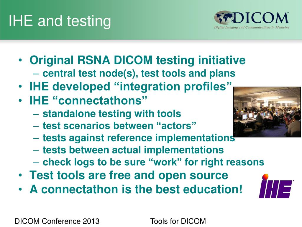 PPT - Making it with quality: Tools for DICOM PowerPoint