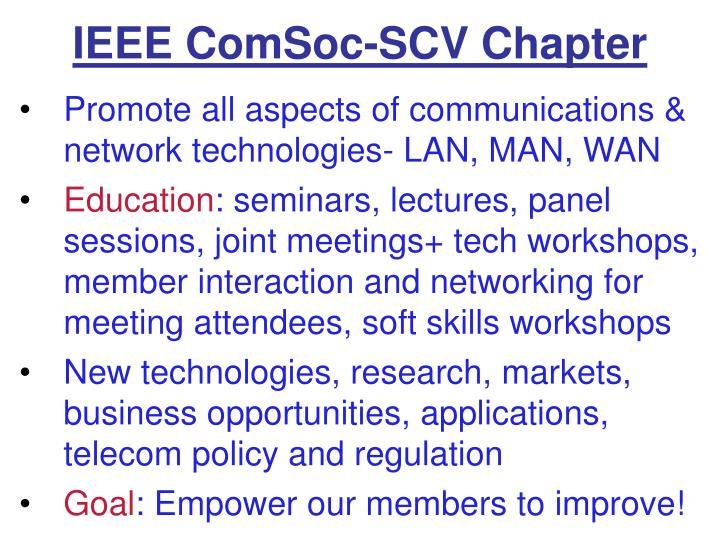 IEEE ComSoc-SCV Chapter