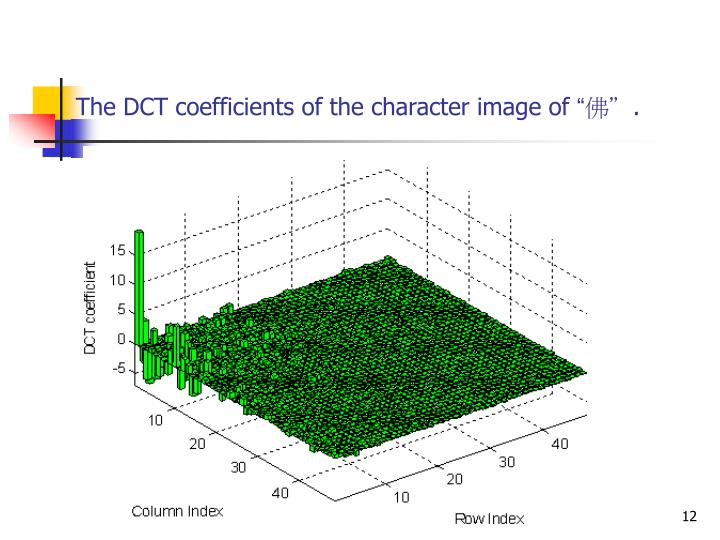 the discrete cosine transform I want to implement the fast cosine transform  fast cosine transform via fft  how do i sum the discrete cosine transform cosine waves 0.