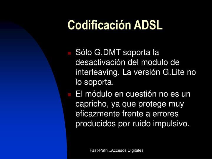 Codificación ADSL
