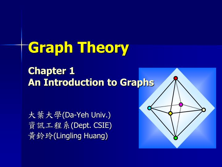 graph theory chapter 1 an introduction to graphs n.