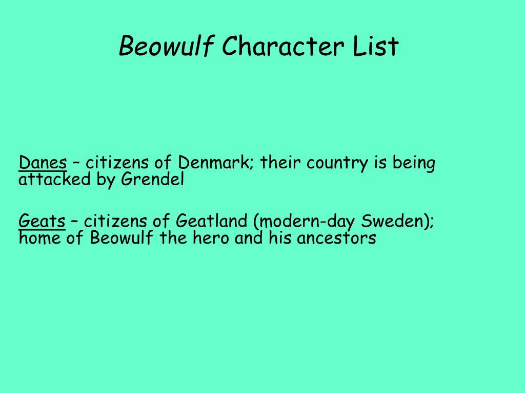 modern day beowulf
